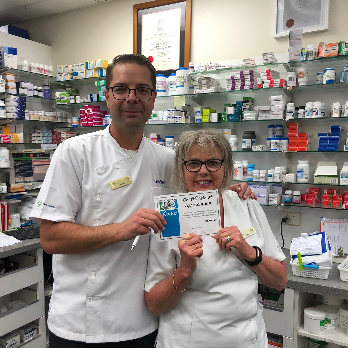 service by Unichem Waiuku Pharmacy